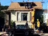 Los Angeles Woman's Daring Rooftop Escape
