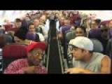 Lion King Australia Cast Surprise Their Fellow Passengers