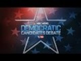 LIVE NBC News-YouTube Democratic Debate