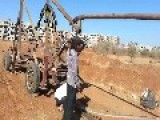LOL Video Showing An Elaborate DIY Catapult Being Used To Fling A Land Mine In Syria