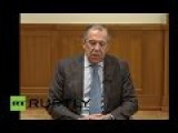LIVE: Lavrov Addresses Press And Spits Fire After Turkish ISIS?- Forces Shoot Down Russian Su-24 Over Syria ENGLISH