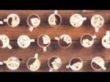 Latte Motion - Animation Created With 1000 Cups Of Coffee