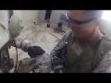 Lucky Marine - Sniper Shot Of A Taliban Hits Helmet