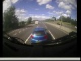 Lorry Drive Narrowly Avoids Incident With Road Rage Driver
