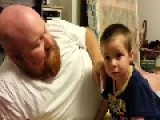 Little Boy Devastated As Dad Takes His Ear