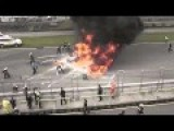 Lamborghini Gallardo In Fiery Crash