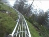 Long Alpine Coaster Imst - No Brakes!
