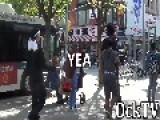 Looking For A Fight In The Hood Prank