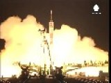 Long Mission Begins For Astronaut And Two Cosmonauts On ISS