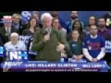 Live - Bill Clinton And Chelsea Clinton Campaign For Hillary