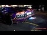 Lamborghini Aventador FLAMING!!