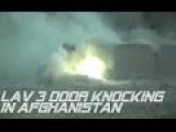 LAV 3 Destroys Taliban Compound In Afghanistan