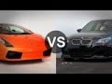 Lamborghini Gallardo Vs BMW M5 E60 Race - Top Speed