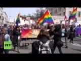 LGBT March To Demands Rights In Russia