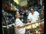 Little White Kid Sings Blues - Knocks Socks Off Guitar Shop Owner