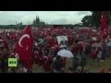 LIVE Pro-Erdogan Rally In Cologne