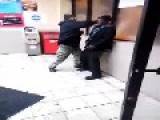 Lame Ass MoFo Can't Even Knockout A Homeless Guy Feel Good Video Of The Day !