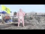 Loincloth-clad Oregon Militant Challenges Chris Christie To A Sumo Match