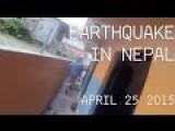 LIVE FOOTAGE During Kathmandu Earthquake - Pokhara, Nepal On 25 April 2015