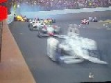 Lap 177 Of Indy 500 Huge Wreck