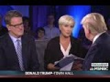 Leaked Audio Catches Mika And Joe Chatting With Trump During Break: 'Nothing Too Hard, Mika'