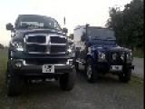 Land Rover Vs Dodge Truck