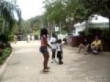 Lady Goes Crazy At Sea World..Lol!