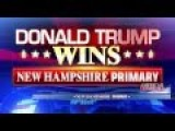 Live - Donald Trump New Hampshire Victory Speech!