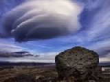 Lenticular Clouds Short Timelapse New Zealand