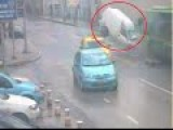 Live Car Accident With Bus In Turkey | Cctv Footage Video Leaked