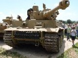 Last Running WW2 Tiger Tank To Appear In Brad Pitt Film 'Fury'