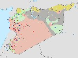 LATEST WAR MAP OF SYRIA MAY 11 2014