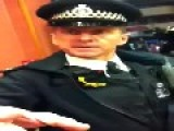 London Met Officer Doesn't Like Being Filmed And Attempts To Grab The Phone Camera