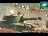 Leaked SAA Footage: Tanks & Artillery Shelling Quneitra