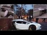 Lamborghini Aventador- Crash Caught On Camera