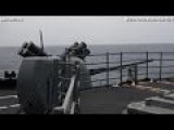 LIVE KABOOM From Guided-Missile Cruiser USS Antietam CG 54