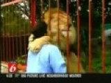 Lion Huggles His Rescuer Like Humans Do It