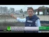 Life Slowly Returns To Stricken Homs RT's Maria Finoshina Reports