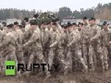 Latvia: See M1A2 Abrams TANKS In US Army Combat Demo