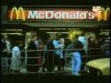 Line To First McDonalds In Moscow, Russia