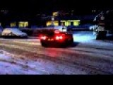 Lamborghini Murcielago Snow In Geneva