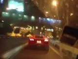 Lamborghini In Tunnel, Insane Sound! Put Your Headphones On!