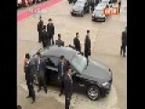 Large Number Of Secret Agents Escort Chinese President To Macao