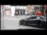 Lamborghini Hit The Car On The Street