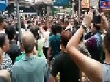 Locals Rise Up To Expel Democracy Activists From Making Trouble In Their Neignborhood