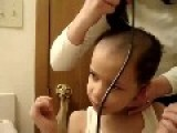 Little Boy Gets Dr. Phil Haircut
