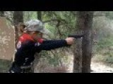 Little Girl Indoctrinated By Americans To Shoot Guns