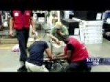 Lowe's Employees Help Vietnam Vet Fix His Busted Wheelchair
