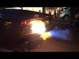 LAMBORGHINI AVENTADOR CATCHES FIRE IN LONDON!!!