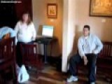 Lady Goes Insane, Kicked Out Of Coffee Shop. Jesus And Mexicans Rant
